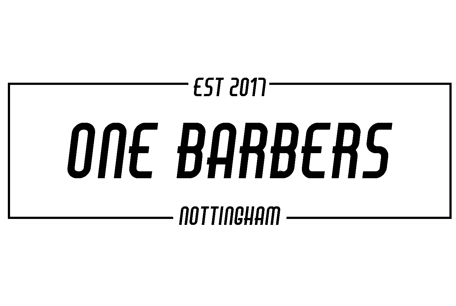 one barber logo